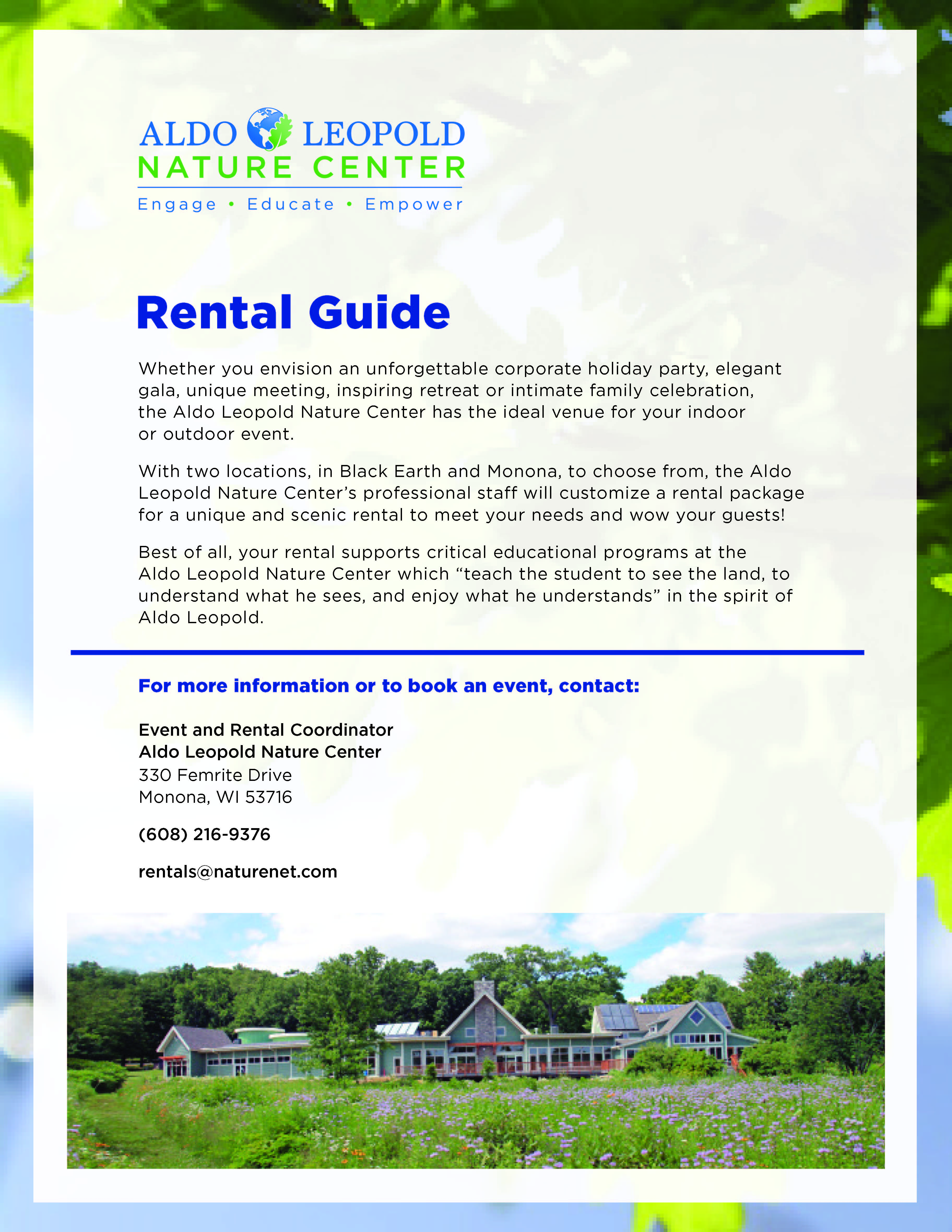 2014 - Rental Guide - page 1 for web link