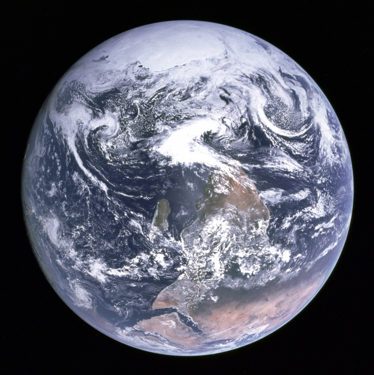 Apollo 17's Blue Marble (Wikimedia)