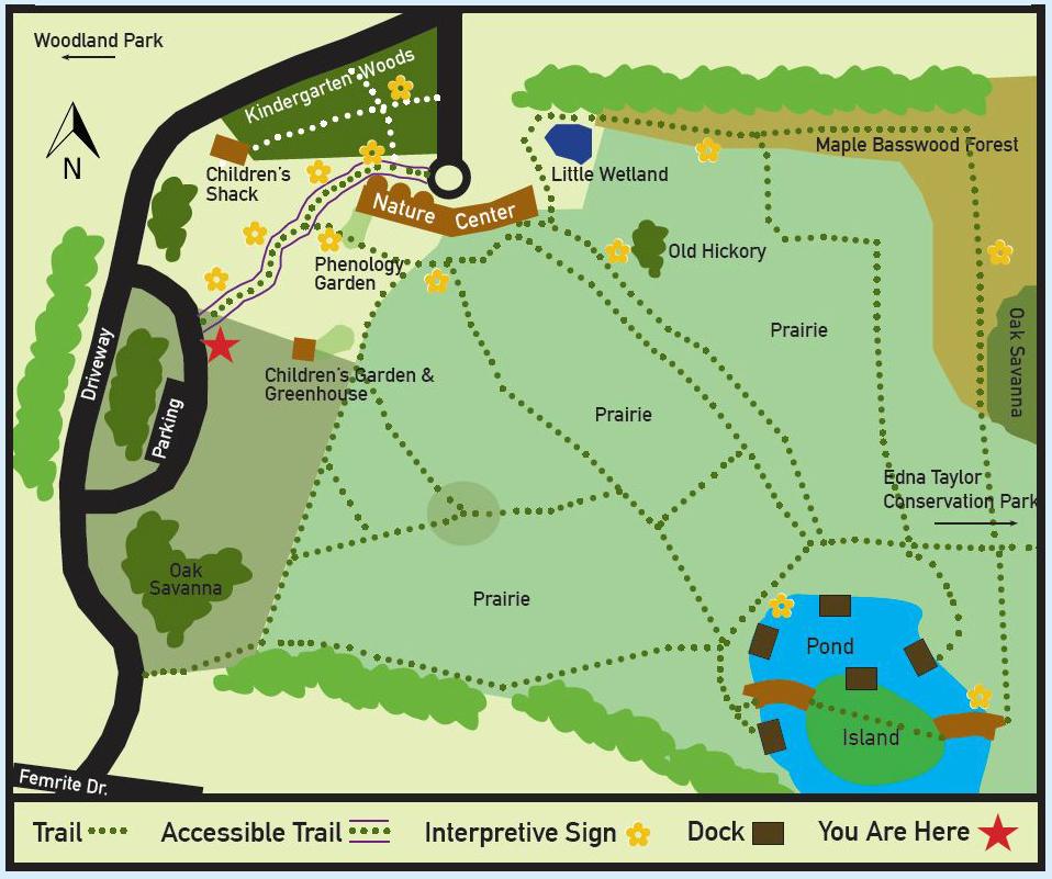 Trail map aldo leopold nature centeraldo leopold nature center map gumiabroncs Choice Image