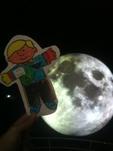 stanley on the moon